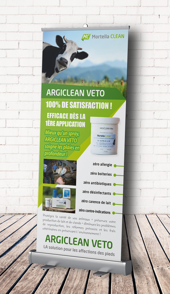 Mortella Clean - Roll-up