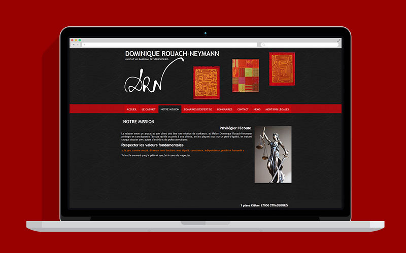 Dominique Rouach-Neymann - Site web