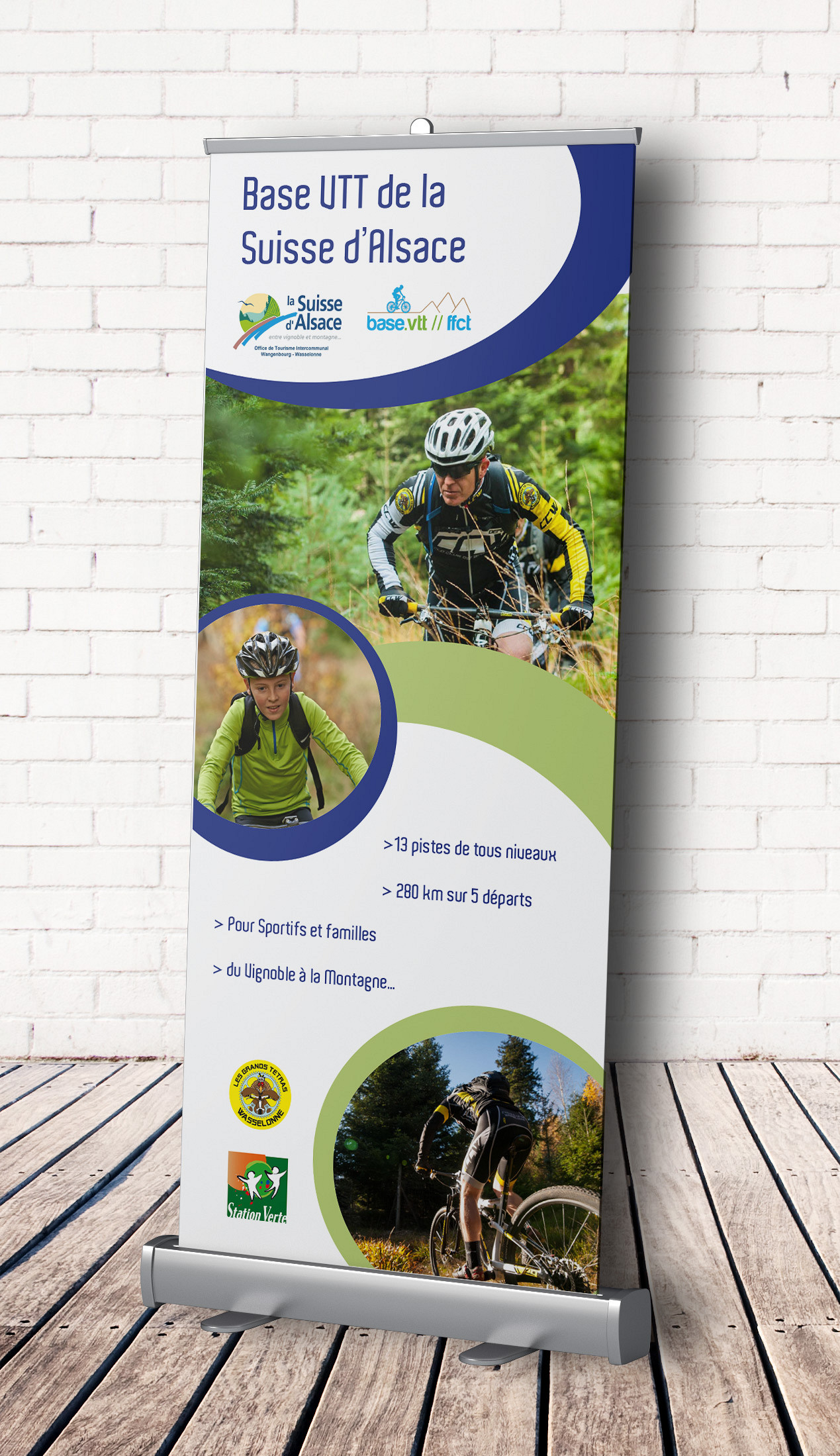 Suisse d'Alsace - roll-up Base VTT